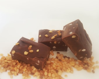 Chocolate Brownie Fudge - Traditional Handcrafted, Organic, Vegan, Lactose Free and Delicious