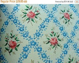 ONSALE Beautiful Vintage Wall Paper Book