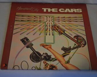 Vintage Gatefold Record The Cars: Heartbreak City Album 60296-1