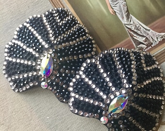 Art Deco Pasties with crystals