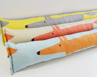 Scion Mr Fox Retro Draught Excluder - All colours listed