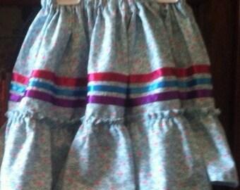 Child's Cherokee Tear Skirt