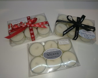 6 x scented Tea Lights (boxed)