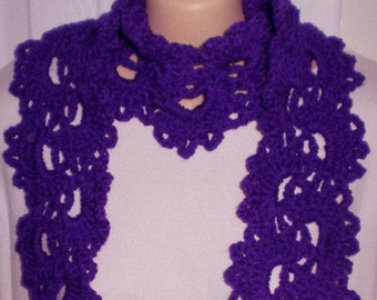 Queen Anne Lace Scarf
