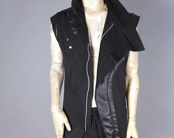 BLACK VEST  AREEA 45, only on orders
