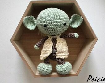 ähnliche Artikel Wie Yoda Häkeln Hut Jedi Meister Mütze Auf Etsy