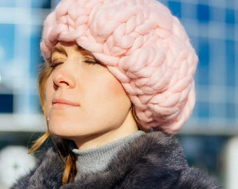 Chunky berets , knit berets