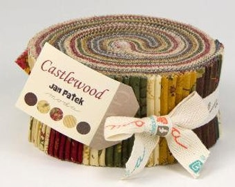 Castlewood Jelly Roll by Jan Patek Quilts for Moda.