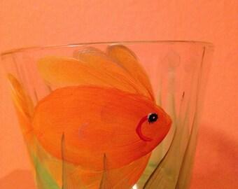 Goldfish Tealight Candle Holder