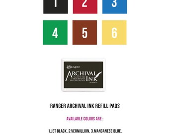 Ranger Archival Ink Pads