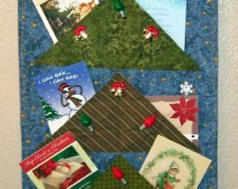 Starry Starry Night - Christmas Card Holder - Pattern Only