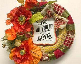1 Corinthians 16:14 Wreath