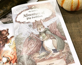 Vol. I  of the Unlikely Adventures of PiP Swiftfoot Comic Pre Order
