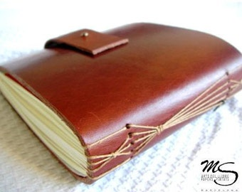 leather bookbinding