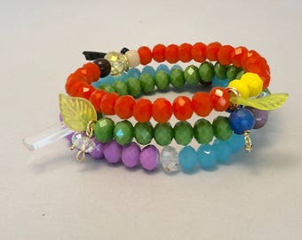 Color Bracelet Trio