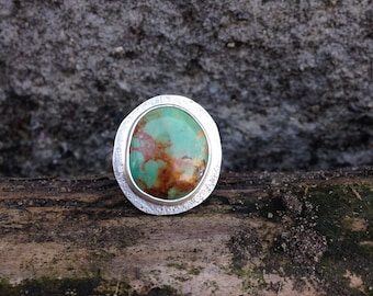 Evans Turquoise ring size 9.75