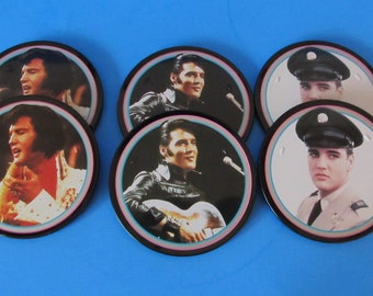 Vintage Elvis Presley Coasters, The Sun Never Sets on a Legend, Graceland