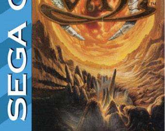 Vay Sega CD manual