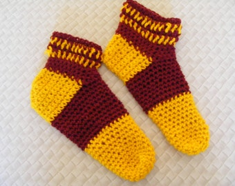 Made to order Harry Potter house socks