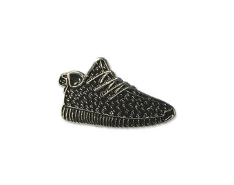 Black Yeezy Enamel Lapel Pin