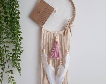 Personalised // BOHO Natural Dreamcatcher