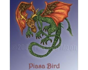 Piasa Bird  Print