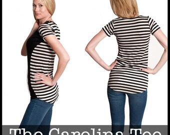 Carolina Tee PDF Sewing Pattern