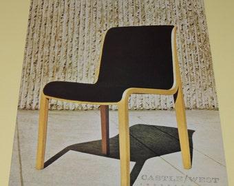 1968 Knoll Associates The Stephens Chair Brochure