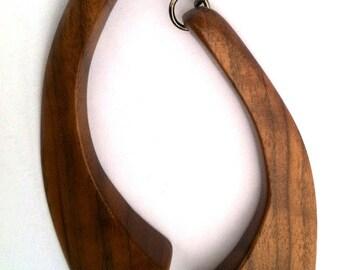 American Walnut Dangle Earrings