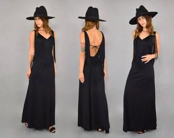 70's Fredrick's Of Hollywood Fringe Dress