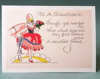Graduation Congratulations Art Deco Style