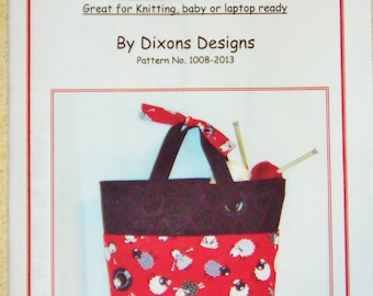 Pattern - The Knitting Bag Pattern 1008-2013