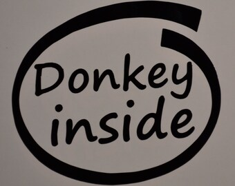 Donkey Inside Decals