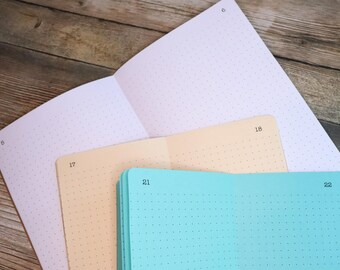 COLLECTIONS with Index  Traveler's Notebook Insert   - Choice of 22 colors and 8 sizes