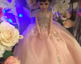 Last doll in blush pink color