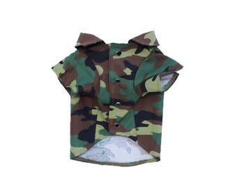 Dog Clothes The Camo Shirt | Dog Shirt | Dog Apparel | Dog Shirts for Dogs | Pet Clothing | Camouflage Print