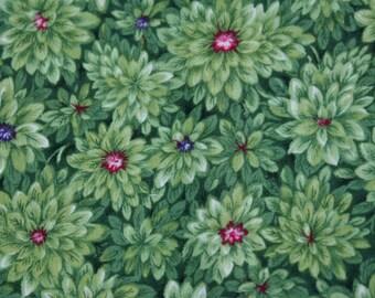 "1 5/8 Yds x 44"" Wide ""A Garden in Bloom"" Cotton Fabric by RJR Fabrics"