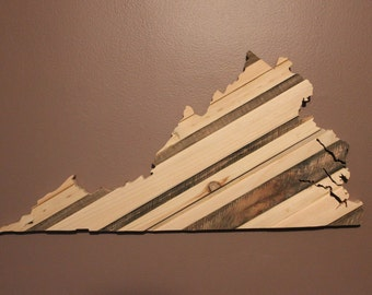 State Sign, State Wall Art, State Wood Sign, State Art