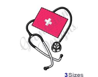 Blood Pressure Cuff - Machine Embroidery Design
