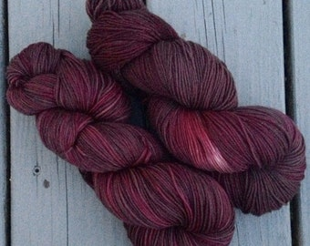 The Reason Marvin is Moping - NEW hand dyed superwash Merino super soft wool blend sock yarn 462 yards 100 grams