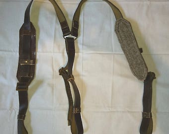 Authentic Soviet Russian Army Soldier Chest Rig Belt