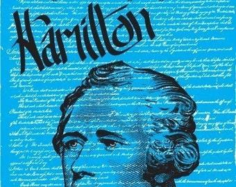 Alexander Hamilton Print 11x17 - Famous Seniors