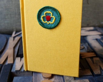 Girl Scout Badge Journal My Troop Trefoil Badge -  Lined