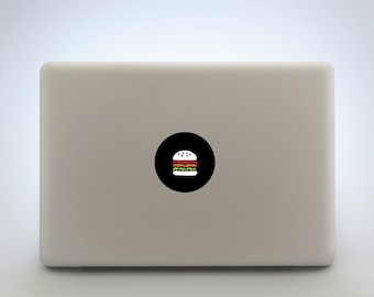 Burger Laptop Sticker Or Tablet Decal