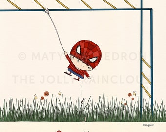 S is for Spiderman