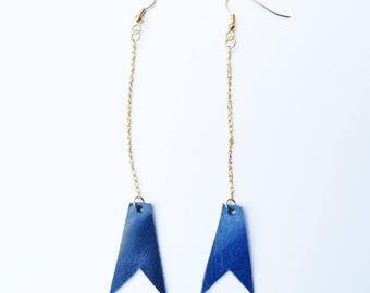 GeoMetrix: Yepa earrings
