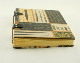 Journal, diary, notebook, A6 Coptic binding size, A6 size, Christmas gift