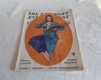 Vintage The Saturday Evening Post Magazine