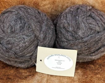 4 Oz Arkansas Wool Corriedale wool Roving
