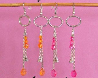 Full of cool and very feminine earrings